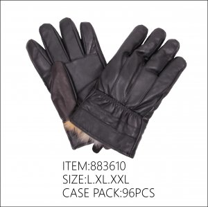 MEN LEATHER WINTER GLOVES 8DZ/CT