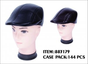 MEN LEATHER HAT 12DZ/CTN