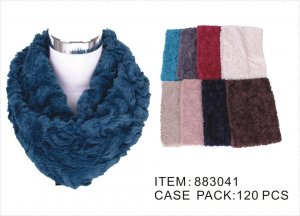 PLUSH INFINITY SCARF X-LONG 10DZ