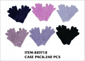 LADIES MINK HAIR GLOVE 20DZ/CTN
