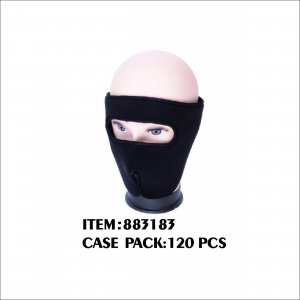 MEN WINTER SKI MASK BLACK ONLY 1
